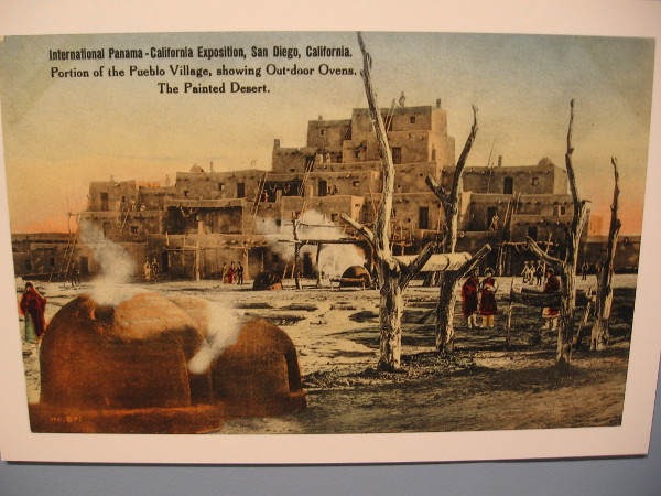 International Panama-California Exposition, San Diego. Portion of the Pueblo Village.