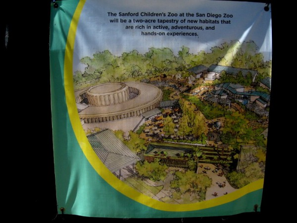 The Sanford Children's Zoo will contain two acres of new animal habitats and kid friendly experiences.