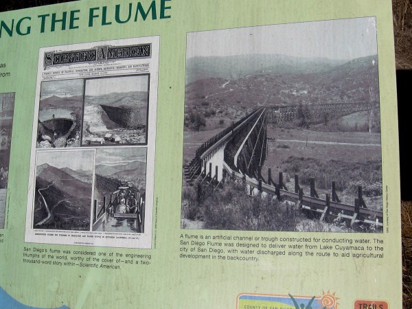 San Diego's historic water flume was considered such an engineering triumph that it was featured on the cover of Scientific American.