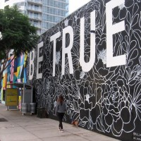 Inspired to BE TRUE in East Village!