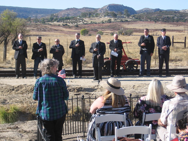 Politicians and dignitaries from a century ago seem to return to life during the San Diego and Arizona Railway centennial.