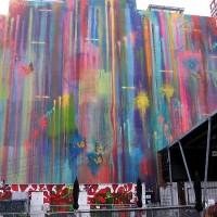 Gigantic splashes of color at Quartyard!