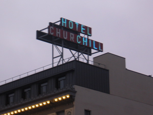 I think I'll lie down. Welcome to the Hotel Chill.
