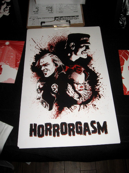 Horrorgasm is an annual art event. In 2019 it celebrated Monsters, Maniacs, The Paranormal, and the Surreal.
