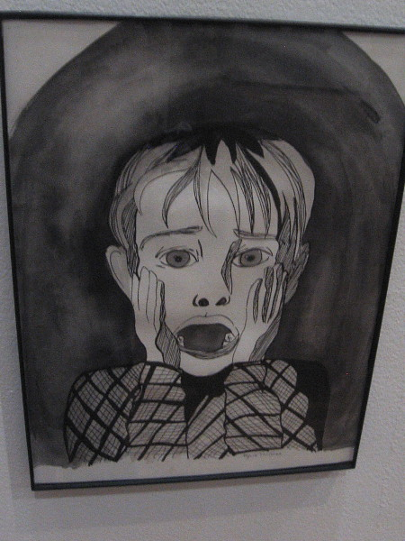 Kevin McCallister, Then, by artist Nyxie Von Rose. Based on the classic holiday film Home Alone.