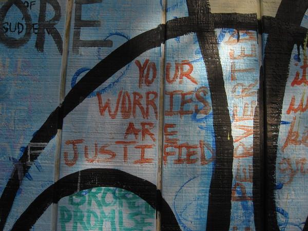 YOUR WORRIES ARE JUSTIFIED . . . BROKEN PROMISE