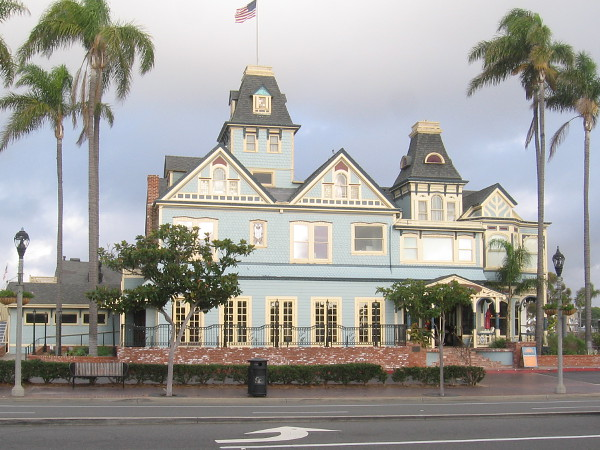Twin Inns is a Victorian structure built in 1887 by Gerhard Schutte, the Father of Carlsbad, co-founder of the Carlsbad Land and Mineral Water Company.