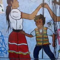 Street art near San Ysidro border crossing!