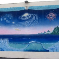 Outer space and UFOs seen in El Cajon!