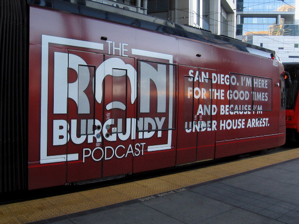 The Ron Burgundy Podcast.