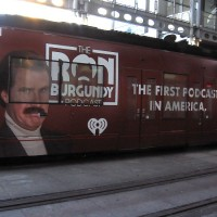 Ron Burgundy on the San Diego Trolley!