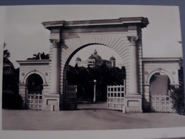 Roman Gate, entrance to Lomaland in Point Loma.