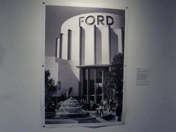 Ford Building, 1934, Digital reproduction of a photograph by Julius Shulman. The first known photo by Shulman in San Diego County.