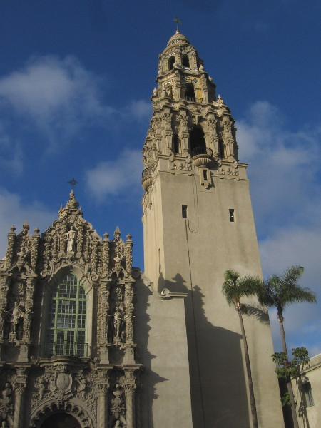 The scaffolding is now off the California Tower. It soon will reopen to the public!