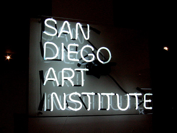 Illumination, 21st Century Interactions With Art and Science and Technology, lights up the San Diego Art Institute in Balboa Park.