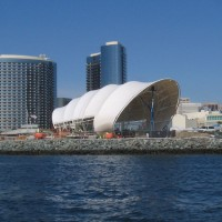 The Shell appears in San Diego's skyline!