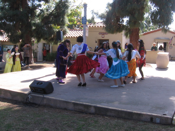 Queens representing some of the Houses at the International Cottages performed dances during the festival.