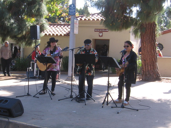 Musicians from the House of Chamorros entertained those listening with several catchy, fun songs.