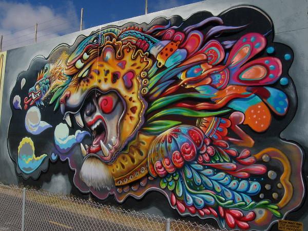 """The Warrior, by Guillermo """"Memuco"""" Munro. Arte Mexicano."""