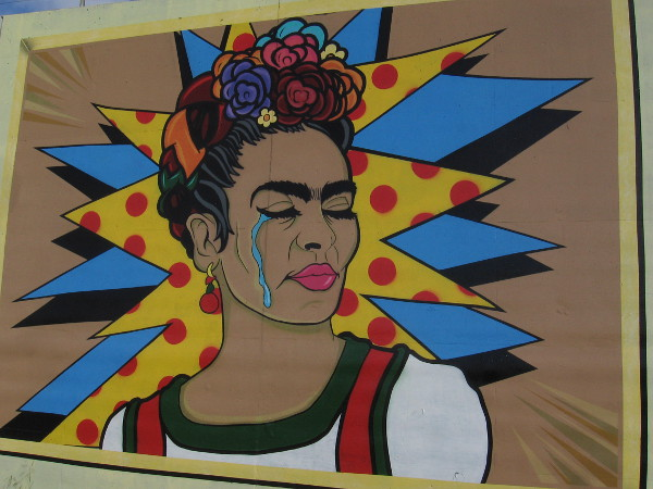 Crying Girl, by Daryl Shawni. Pop Art.