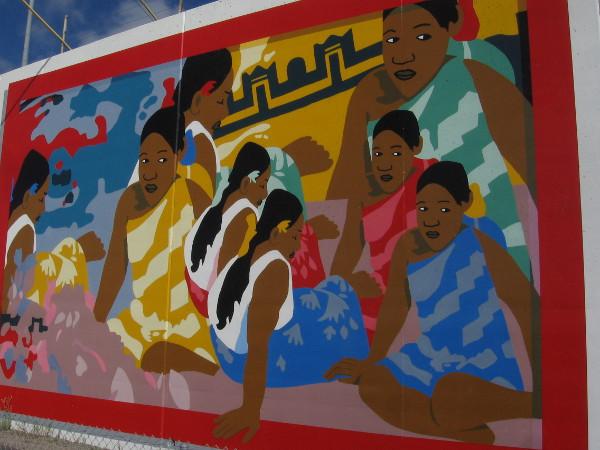 Us Watching You, Watching Us, Watching You, by Jhelen Ramirez and George Shaffer. Post-Impressionism.