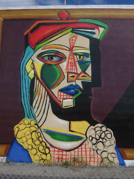 Picasso, by Michelle Guerrero. Cubism.