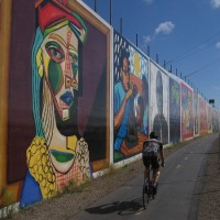 Art Through History murals on Bayshore Bikeway!