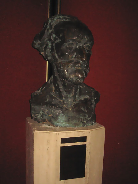 I believe this bust in the Grand Salon is of Giuseppe Verdi.