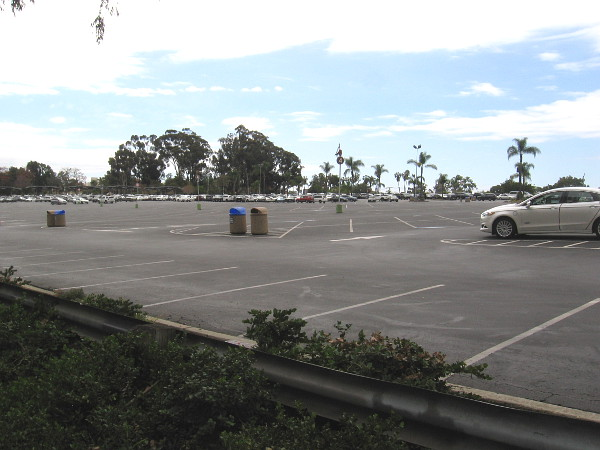 The parking lot at the San Diego Zoo is much emptier than usual. Many are avoiding public places where there are crowds.