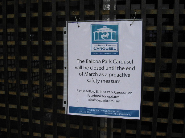 Closed until the end of March as a proactive safety measure.