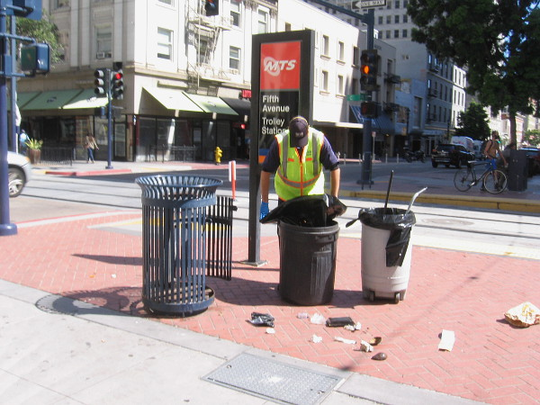 The Downtown San Diego Partnership is still keeping us Clean and Safe.