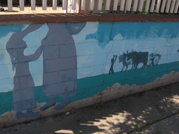 Right part of the mural.