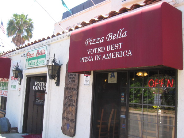 Voted best pizza in America! I gotta try some one day.