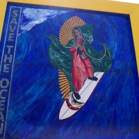 The miracle of the Surfing Madonna.