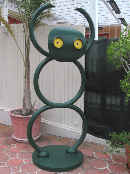 A third fun sculpture!