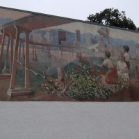 The mystery of an old San Diego history mural.