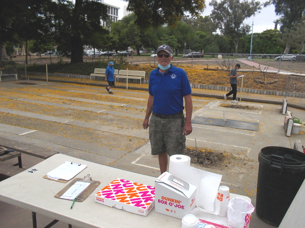 David Lavallee of the Balboa Park Horseshoe Club is working to grow the love of the game in San Diego.