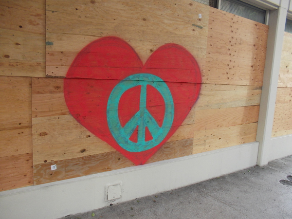 Peace in the heart.
