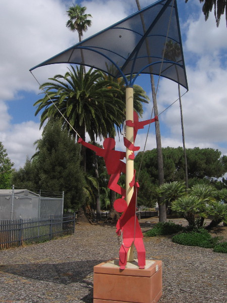 Big Blue Kite, by artist Robert Rochin, 2008.