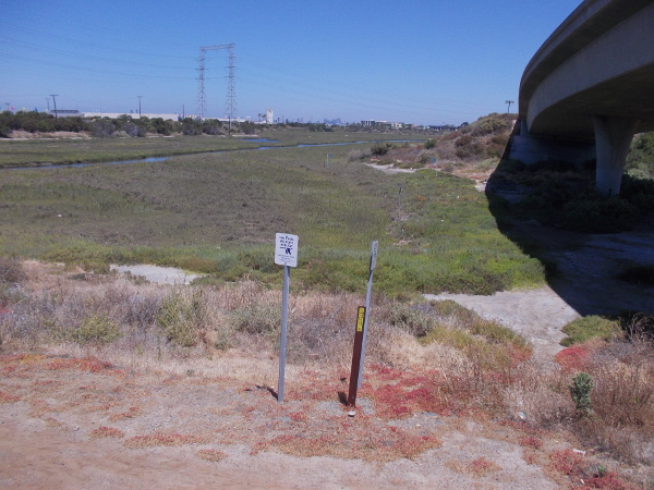 Looking north at Paradise Marsh, part of San Diego Bay National Wildlife Refuge.