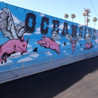 Flying pigs and other cool Oceanside murals!