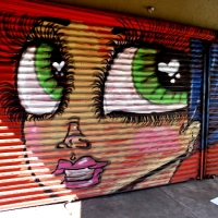 More street art on San Ysidro Boulevard!