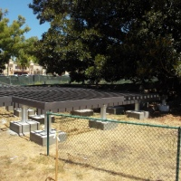 Cottages and a platform rise in Balboa Park!