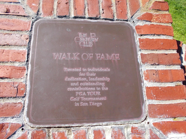 The Century Club WALK OF FAME.