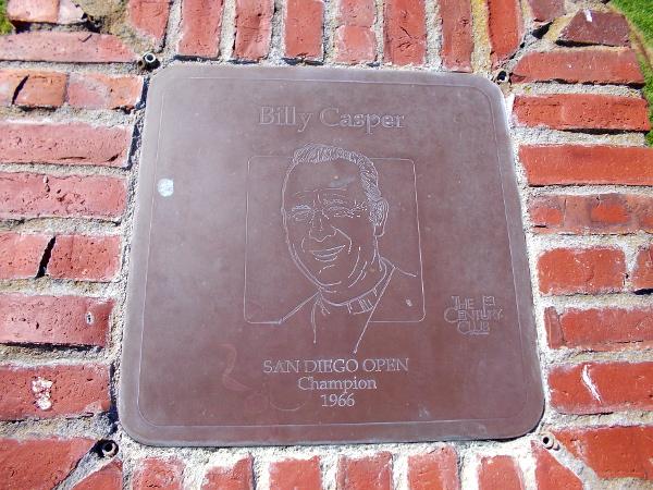 Billy Casper, San Diego Open Champion 1966.