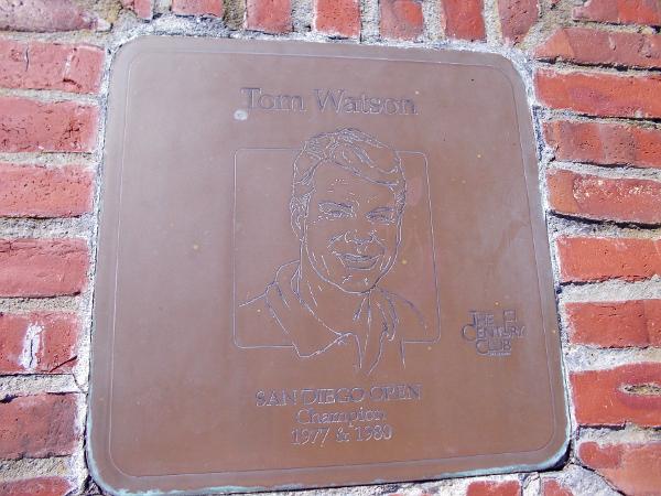Tom Watson, San Diego Open Champion 1977, 1980.