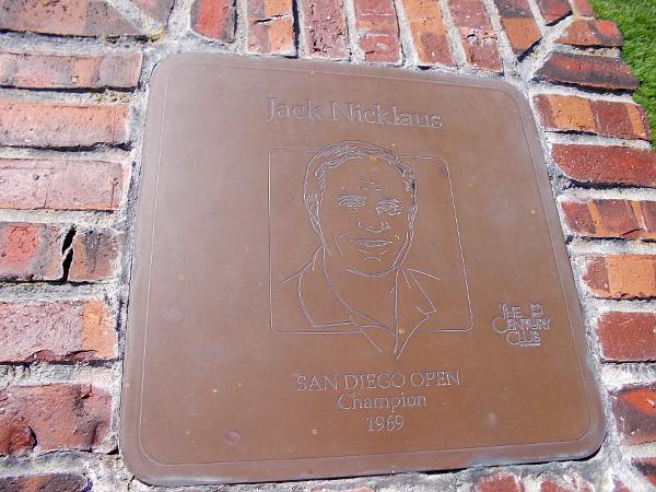 Jack Nicklaus, San Diego Open Champion 1969.