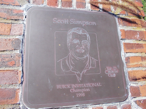 Scott Simpson, Buick Invitational Champion 1998.