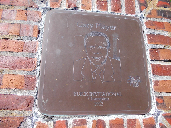Gary Player, Buick Invitational Champion 1963.