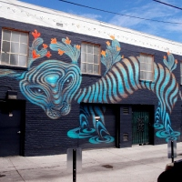 More murals painted in amazing Hillcrest alley!